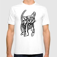 Renzo Mens Fitted Tee White SMALL