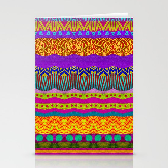 Earth Layers Stationery Card