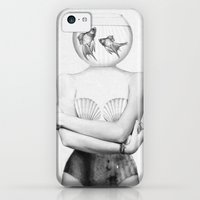 iPhone 5c Cases featuring Pisces  by Jenny Liz Rome