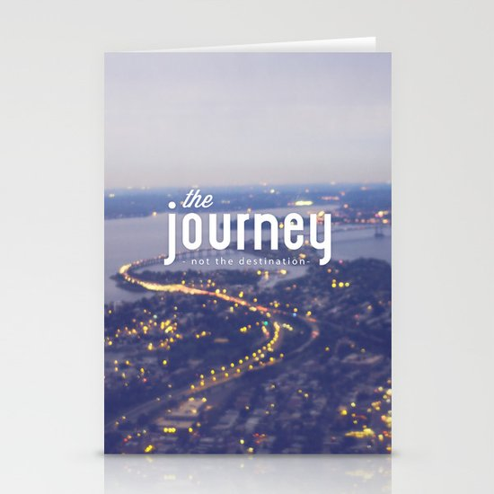 The Journey Stationery Card