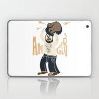 Anger (white Hot Version… Laptop & iPad Skin