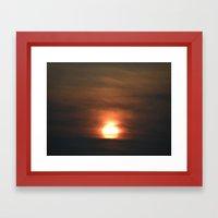 Sunset, July 11th #4 Framed Art Print
