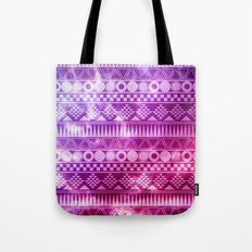 Tribal Fuschia.  Tote Bag