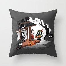 Halloween Decoy Throw Pillow
