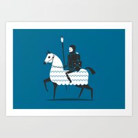 fight with your art  Art Print