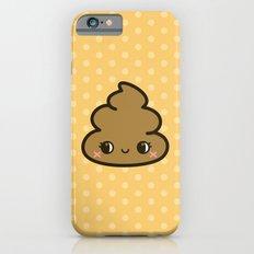 Cutey poop iPhone 6 Slim Case