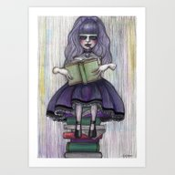 Alice In Another World 2 Art Print