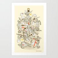 Bad Tempered Rodents Art Print
