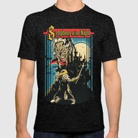 Symphony of the night Mens Fitted Tee Tri-Black SMALL