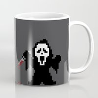 Scream Pixels Mug