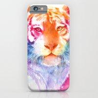 Rainbow stripes iPhone 6 Slim Case