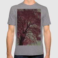 Autumn Blood Mens Fitted Tee Athletic Grey SMALL