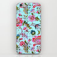 Ancient Floral iPhone & iPod Skin