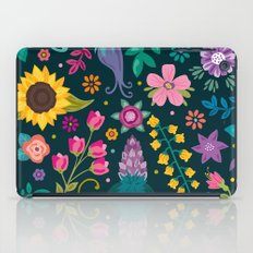 Floral Heart iPad Case