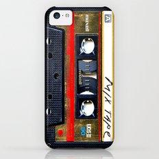 Retro cassette mix tape iPhone 5c Slim Case