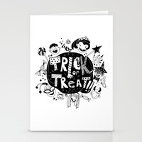 For Halloween - Trick Or… Stationery Cards