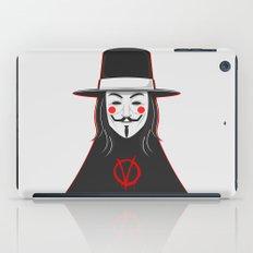 V for vendetta November 5 Minimal Poster iPad Case