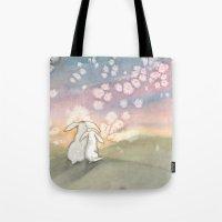 Sunset Fairies Tote Bag