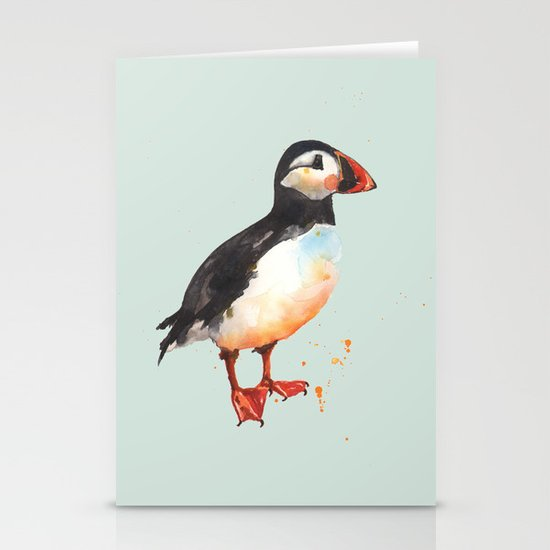 Puffin - Archie Aviator Stationery Card