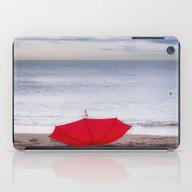 Red Umbrella At The Beac… iPad Case