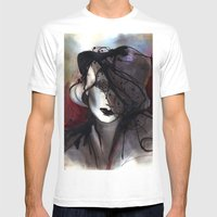 Mystic Iron Mens Fitted Tee White SMALL