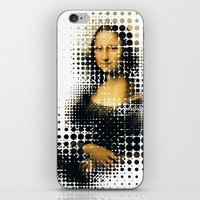 Modern Mona iPhone & iPod Skin