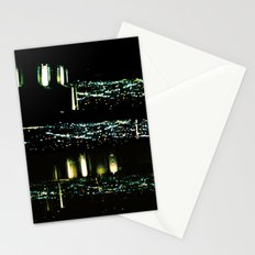 Los Angeles through a pinhole Stationery Cards