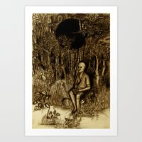 Mud Man Art Print