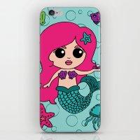 Mermaid Goals iPhone & iPod Skin