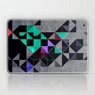 Laptop & iPad Skin featuring Irony Analyg by Spires
