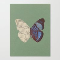 Winging 2 Canvas Print