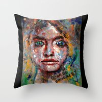 Eager Anticipation Throw Pillow