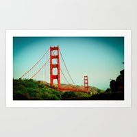The Golden Gate Bridge A… Art Print
