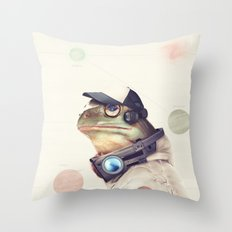 Star Team - Slippy Throw Pillow