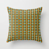Retro Eight Throw Pillow