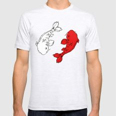 Dub Koi! Mens Fitted Tee Ash Grey SMALL
