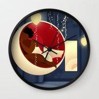 Bubble Chair Wall Clock
