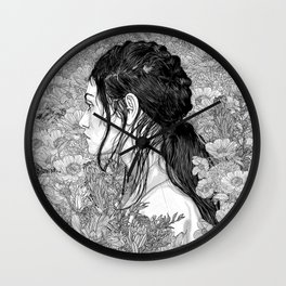 Wall Clock - Love is in Beauty and Chaos - PedroTapa