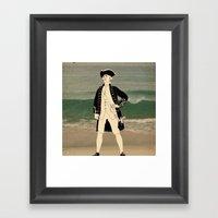 Great Explorers - Captai… Framed Art Print