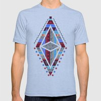 TOGQUOS Mens Fitted Tee Athletic Blue SMALL