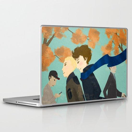 SHERLOCK Laptop & iPad Skin