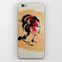 Spring Geisha iPhone & iPod Skin