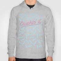 Crushin It Blue Squiggle… Hoody