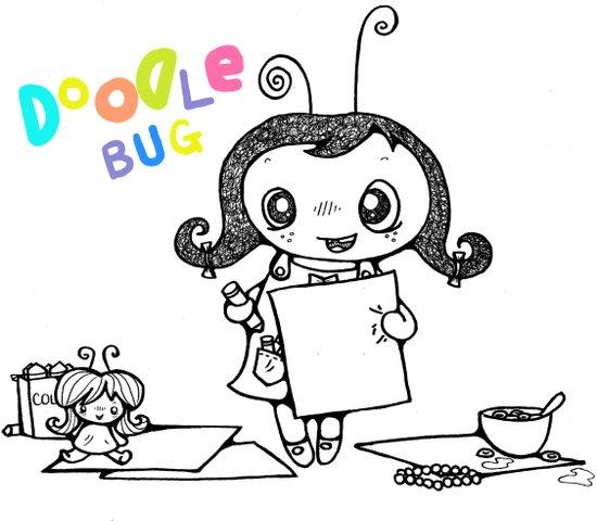 Doodle Bug Art Print