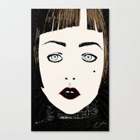 Canvas Print featuring Gretta by Le Butthead