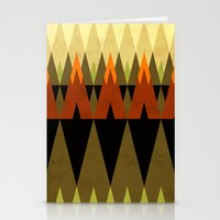 living in the woods Stationery Cards