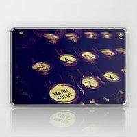 Maquina De Palabras ( Ma… Laptop & iPad Skin