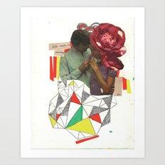 el poseedor Art Print