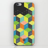 Island of Cubes iPhone & iPod Skin