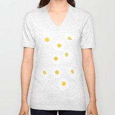 Egg pattern Unisex V-Neck